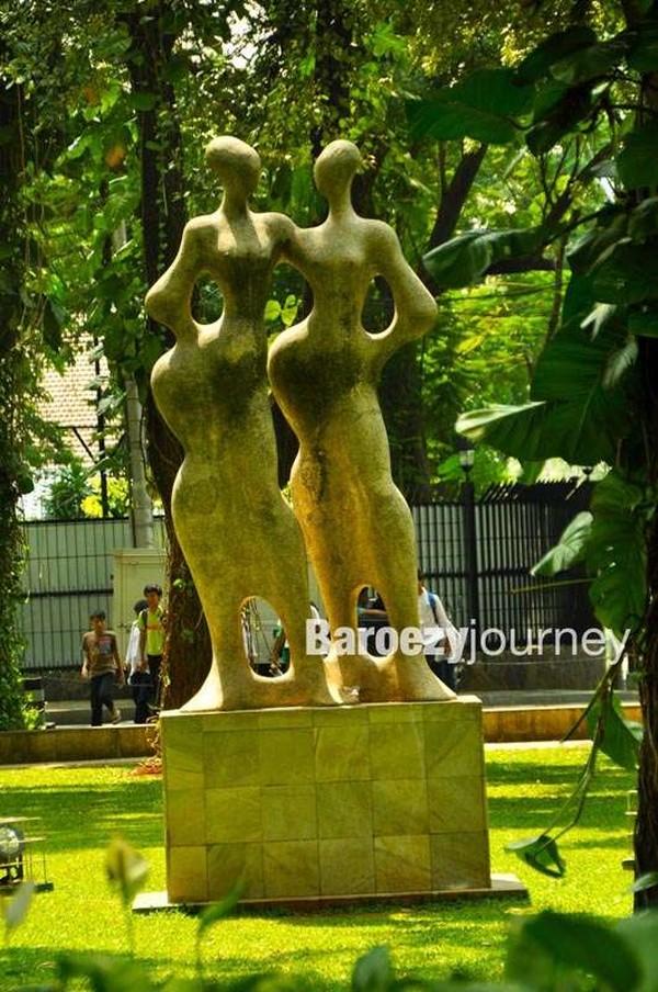 Satu dari enam karya seni yang melambangkan Spirit of Asean (dok. Ver Baroezy/dTraveler)