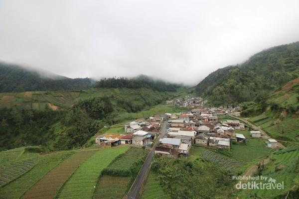 Pemandangan alam Desa Genilangit, Kecamatan Poncol, Kabupaten Magetan