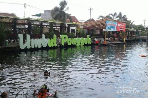 Foto Umbul Ponggok ( Sumber Gambar , https://www.instagram.com/umbul_ponggok )