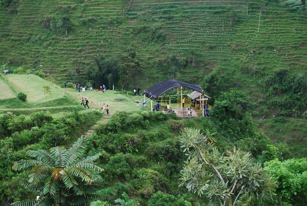Umbul Sidomukti dari ketinggian (Krestiawan Wibowo Santoso)