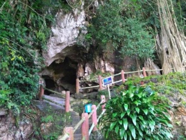 Mulut Gua Ngalau Indah di Payakumbuh, Sumbar yang eksotis dan mistis