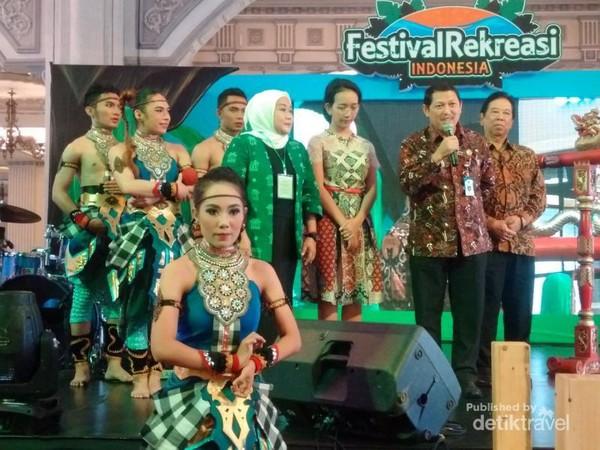 Pembukaan Festival Rekreasi Indonesia