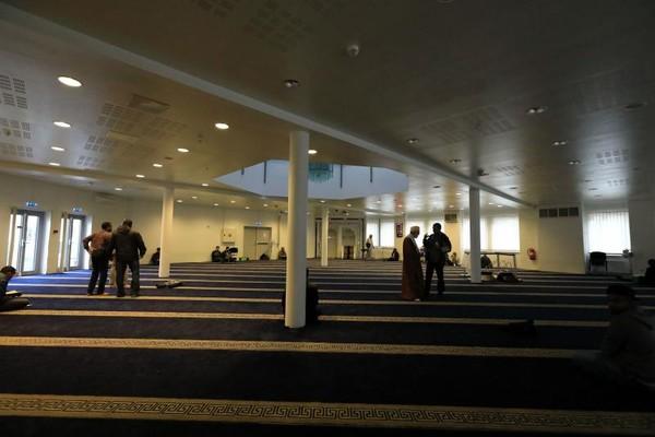 Suasana dalam The Islamic Cultural Center (ICC)