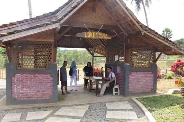 Pintu masuk ke Agrowisata Kalibendo.