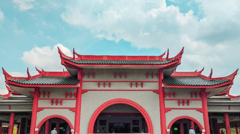 Ilustrasi Bangunan China