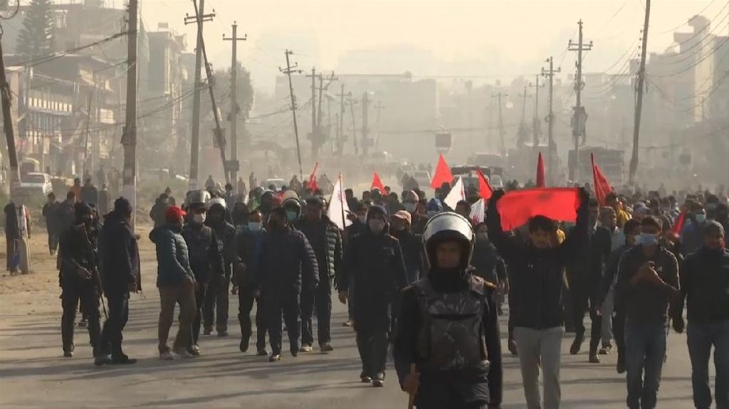 Nepal Lumpuh, Ada Mogok Massal Protes Putusan PM Bubarkan Parlemen