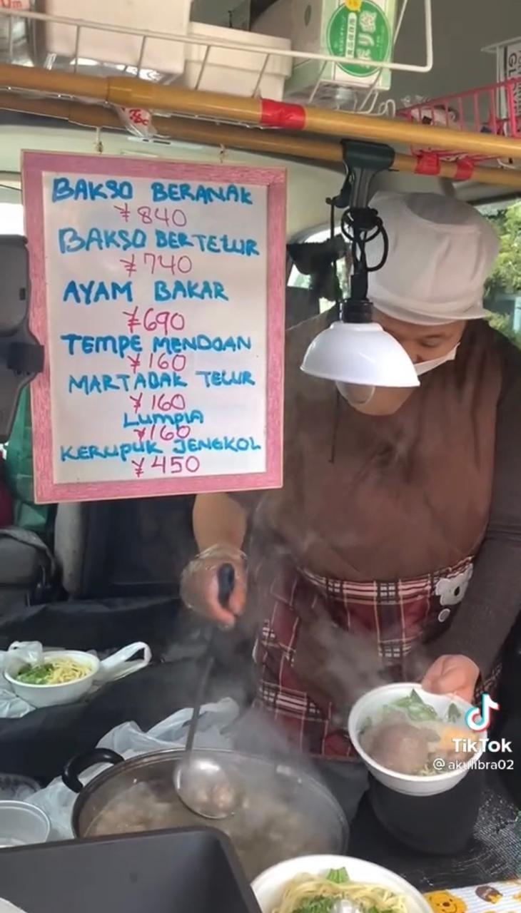 Penjual Bakso Beranak dan Kerupuk Jengkol di Jepang Ini Jago Bahasa Jawa