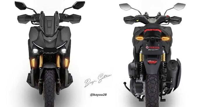 Rekayasa Digital Motor Petualang Yamaha Pesaing ADV 150