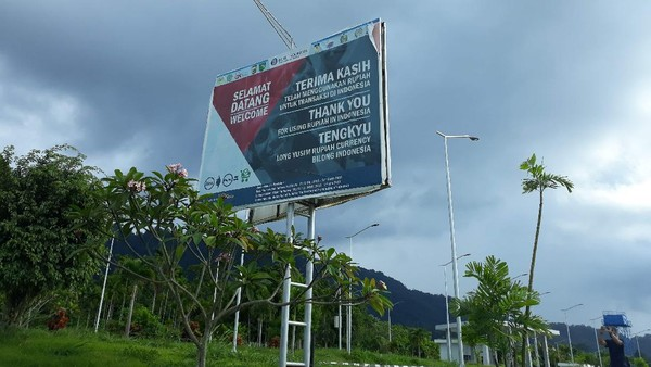 Namun sejak pandemi covid 19, perbatasan RI-PNG ditutup. Pemerintah Papua Nugini melarang warganya melintasi batas Indonesia. Begitu pula sebaliknya, melarang wisatawan Indonesia masuk ke perbatasan negaranya. (Hari Suroto/Istimewa)