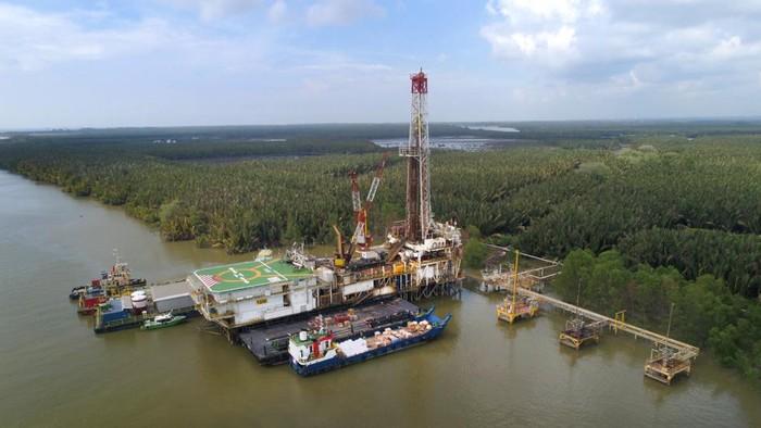 Swamp Rig Pertamina Hulu Mahakam
