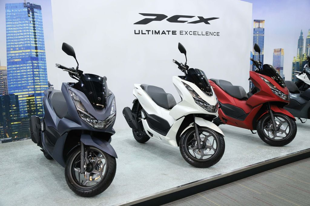 All New Honda PCX 160 cc