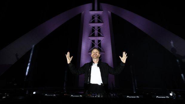 David Guetta konser di Dubai