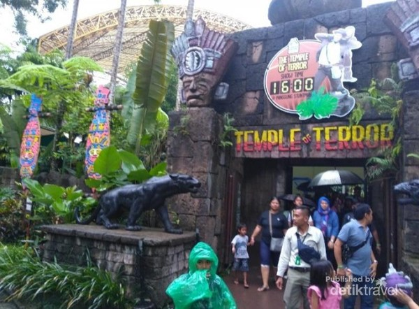 Temple of Terror yang dimulai pukul 16.00