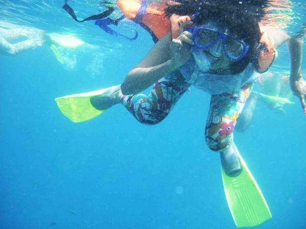 Menyelam di Pulau Tidung