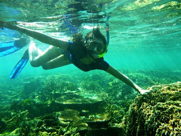 here Im loving snorkeling somuch