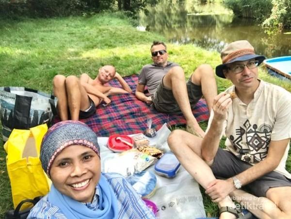 Pulau-pulau kecil menjadi tempat piknik yang alami