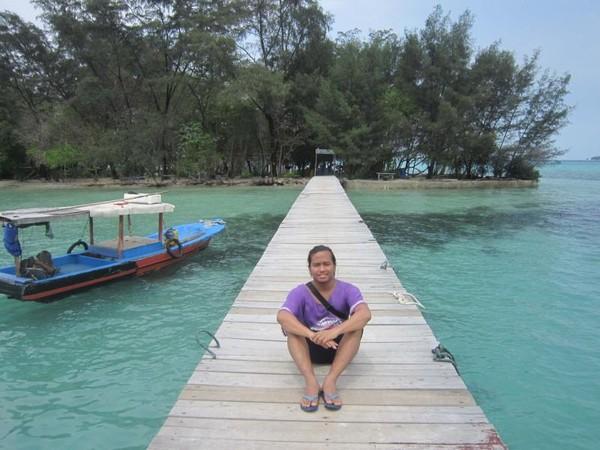Pulau Semak Daun, Pulau kecil nan indah di Kepulauan Seribu