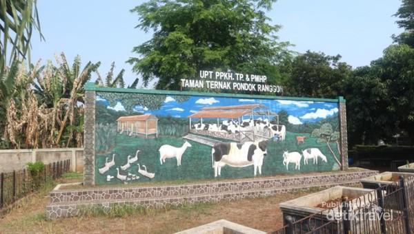 Tempat ini bernama Cibubur Garden Dairy atau Cibugary