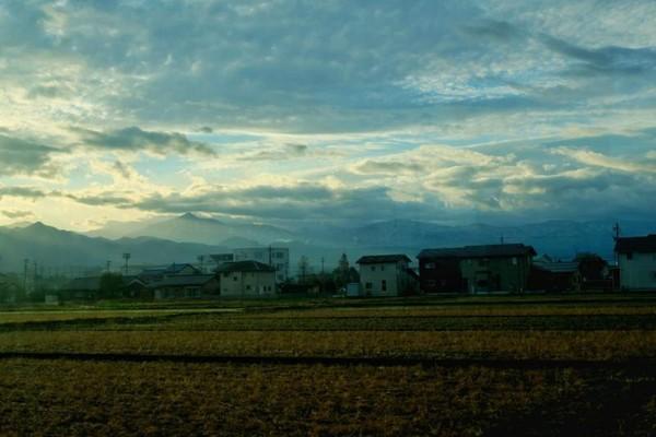 Perjalanan menuju Stasiun Tateyama