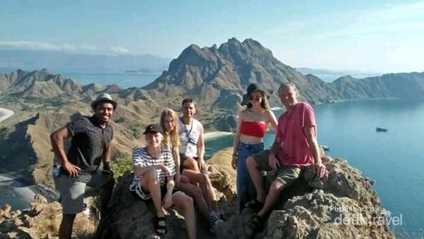 Foto di Pulau Padar, salah satu spot terbaik di kawasan Taman Nasional Komodo