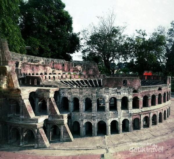 Colosseum dari Roma, Italia