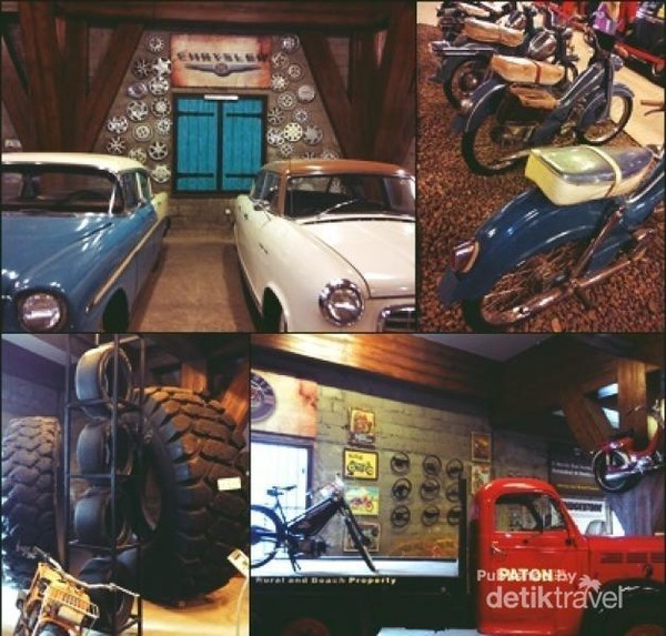 Berbagai jenis mobil dan motor dari berbagai belahan dunia. Setiap mobil, motor dan sepeda tersebut memiliki keunikan tersendiri