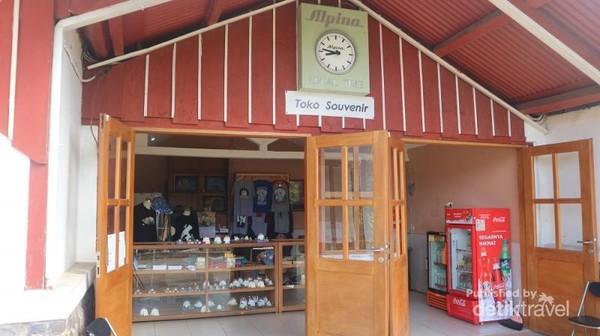 Tersedia juga toko souvenir di observatorium ini