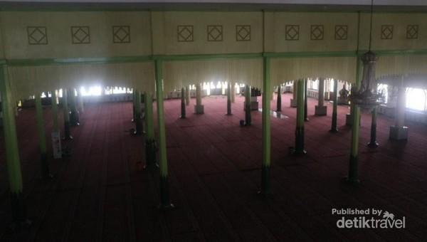 Bagian masjid lama yang masih dipertahankan