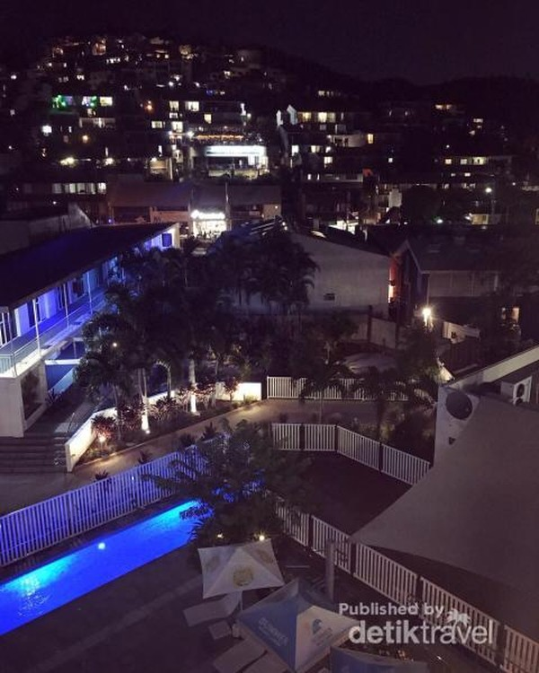 Hotel-hotel di sini lebih murah dari pada di Hamilton Island