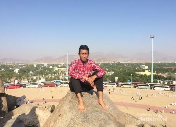 Menikmati puncak Jabal Rahmah