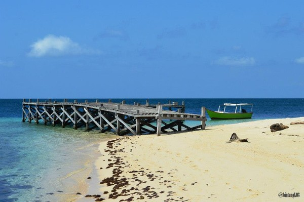 Dermaga Pulau Samalona