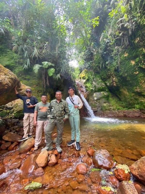 Curug Golek Bogor yang terlihat segar