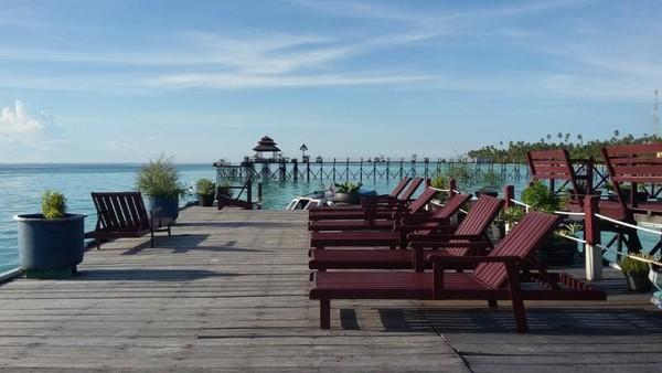Spot kece di Maratua Paradise Resort