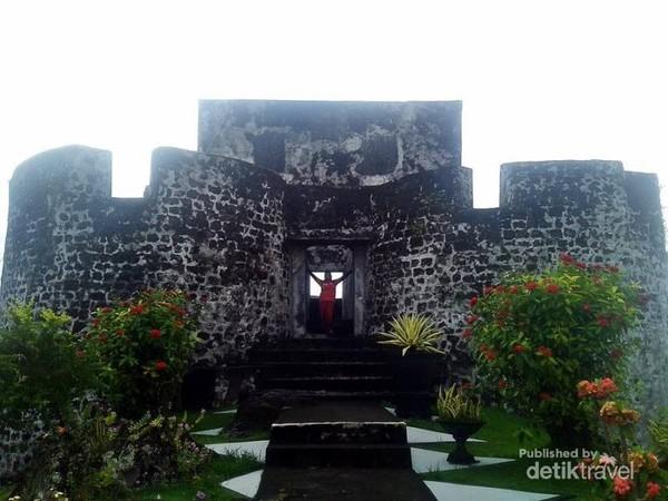 Tolukko, benteng instagenic di Ternate