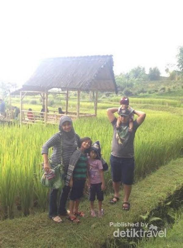 Suasana Pedesaan Di Dusun Bambu