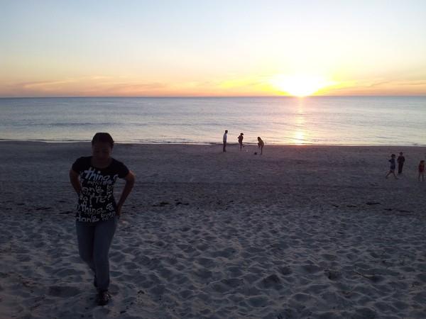 sunset di Glenelg