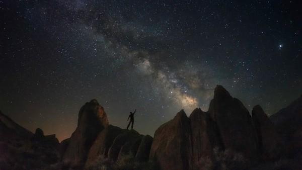 Nayana Rajesh (16) juga mengikuti kompetisi Travel Photographer of the Year 2020. Ia mengambil foto ini selama liburan di Lone Pine, California, AS pada 2018 lalu.