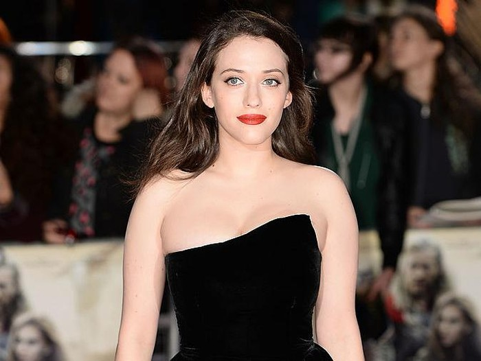 LONDON, ENGLAND - OCTOBER 22:  Kat Dennings the World Premiere of Thor: The Dark World at Odeon Leicester Square on October 22, 2013 in London, England.  (Photo by Ian Gavan/Getty Images)