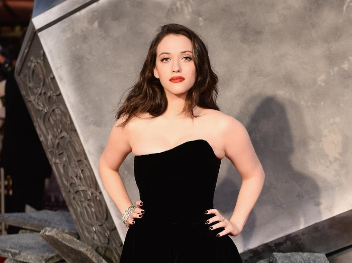 LONDON, ENGLAND - OCTOBER 22:  Kat Dennings the World Premiere of