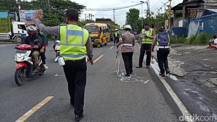 goweser tewas terserempet truk