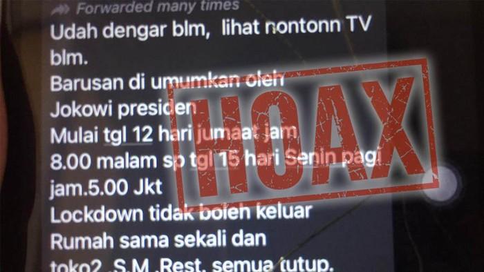 Dki Jakarta Lockdown Total 12 15 Februari Dipastikan Hoax Ini Faktanya