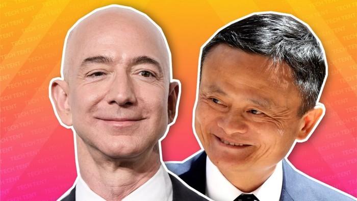 Jeff Bezos Jack Ma