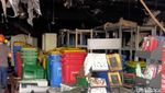 Dagangan di Mal Panakkukang Makassar Hangus Dilahap Si Jago Merah