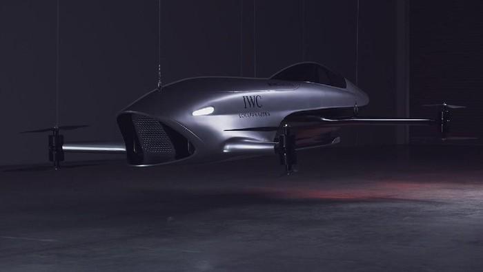 Mobil balap terbang pertama di dunia.