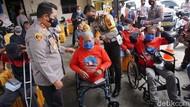 Cerita Pria Tanpa Kaki Berhasil Bangkit Hingga Jadi Pelopor Keselamatan Lalin