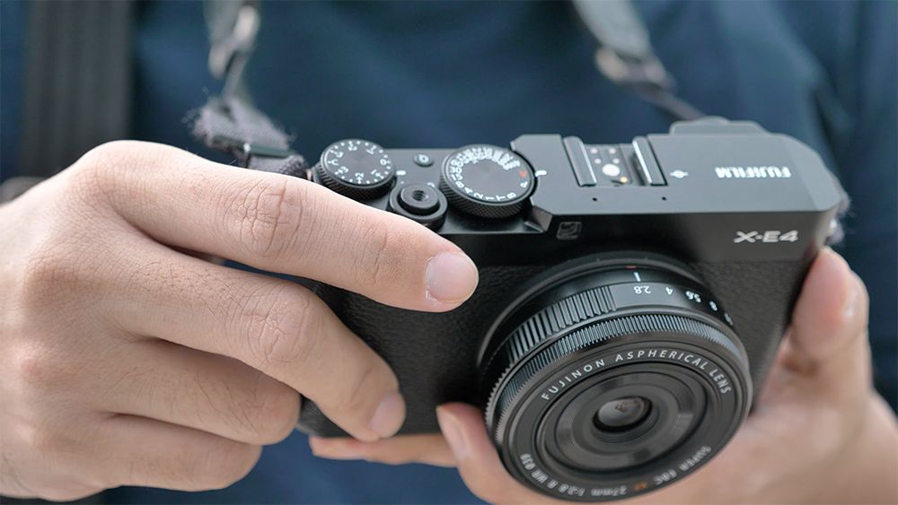 Review kamera Fujifilm X-E4