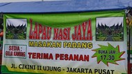 5 Rumah Makan Padang Enak di Jakarta yang Jarang Terekspos