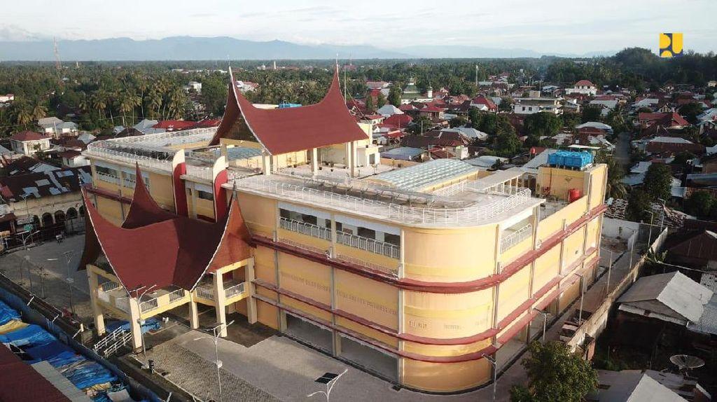 Tampilan Pasar di Sumatera Barat dan Jatim Dirombak, Ini Hasilnya