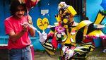 Transformer Kampanye Protokol Kesehatan di Lembang