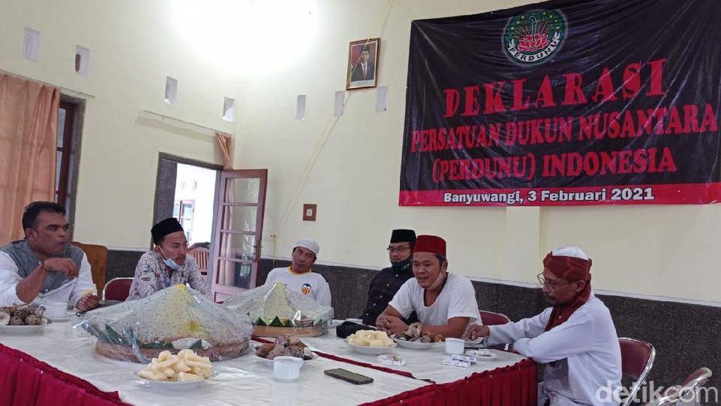 Perdunu Indonesia Siap Diklarifikasi Disbudpar Banyuwangi soal Persatuan Dukun